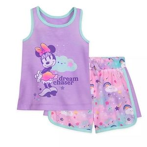 Minnie Mouse Short Sleep Set for Girls 4